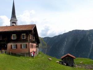 The village of Tenna