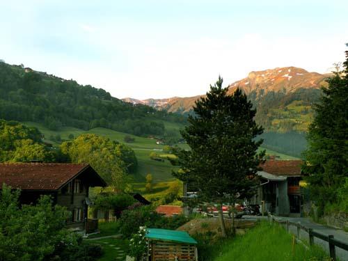 View of Praettigau Valley, Switzerland