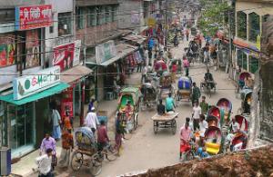 Chittagong rush hour