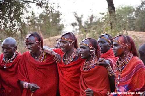 Maasai at Selenkay Conservancy