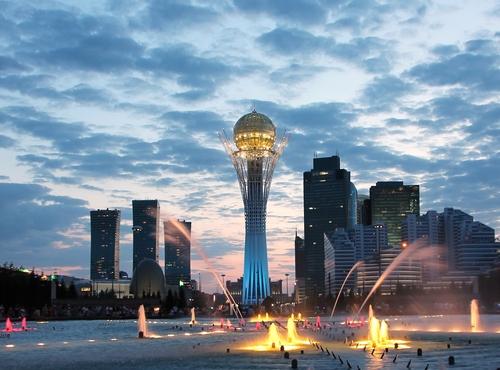 Almaty Skyline, Kazakhstan
