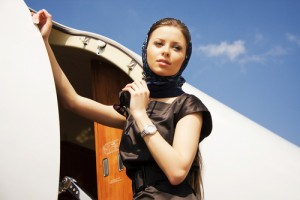 Islamic air stewardess