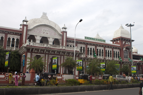 Chennai's central train station