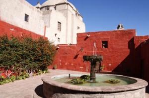 Catalina Fountain, Arequipa, Peru
