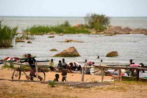 Lakeside village, Malawi
