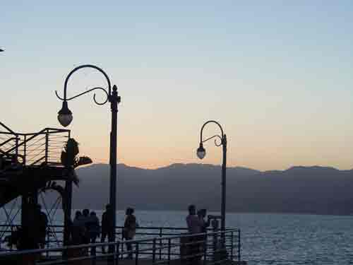 Santa Monica Pier, Sunset
