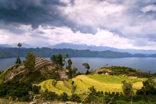 Lake Toba landscape