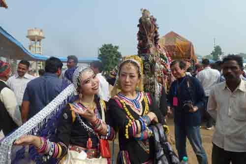 Women at Pushkar Camel Fair