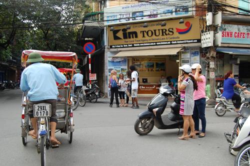 Streetscene in Vietnam