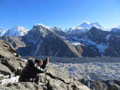 Everest, Nuptse, Lhotse and Makalux