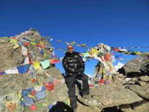 The summit of Gokyo-Ri