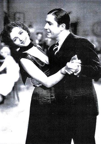 Carlos Gardel with Mona Maris