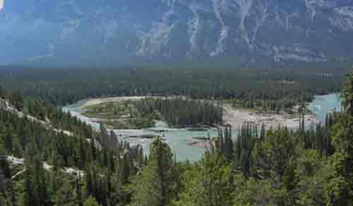 The River of No Return landscape