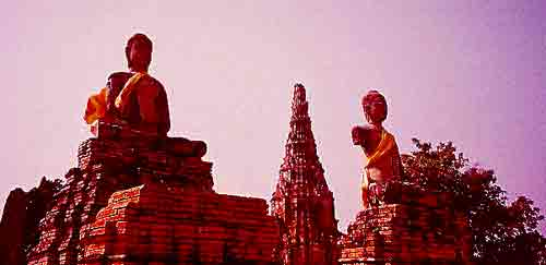 Ayutthaya sunset