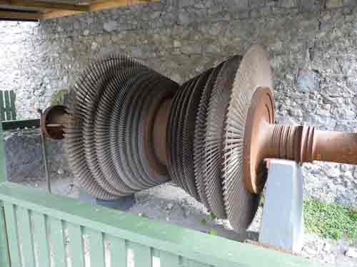 Steam turbine, Birr Castle