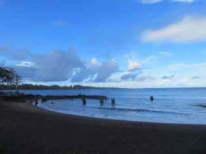 View, Hawaii beach