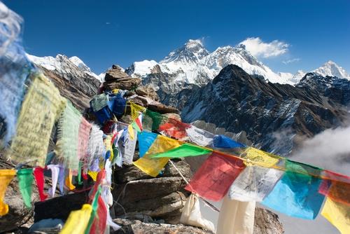 Chomolungma, near Everest,  Himalayas