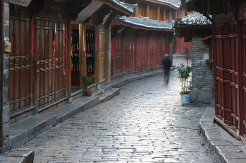Lijiang, China - a silly place