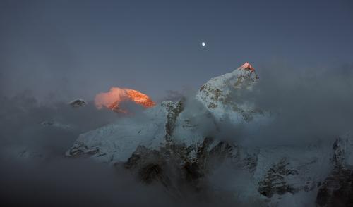 Mountain landscape, Himalayas