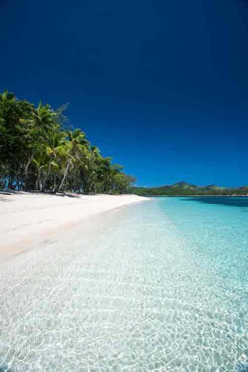 Yasawa Islands, Fiji, beach