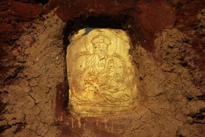 Rock engraving of the Buddha, Bhutan