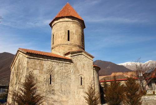 Church, Caucasus, Azerbaijan