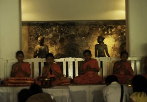 Thai boy monks