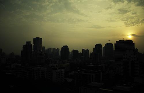 Thai skyline