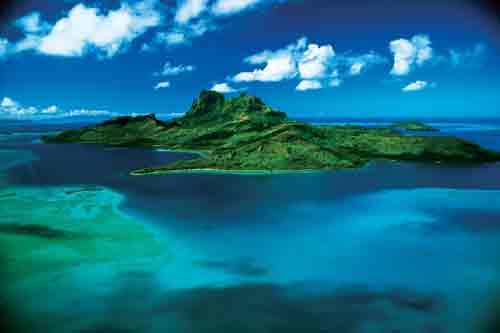Bora Bora in all its beauty