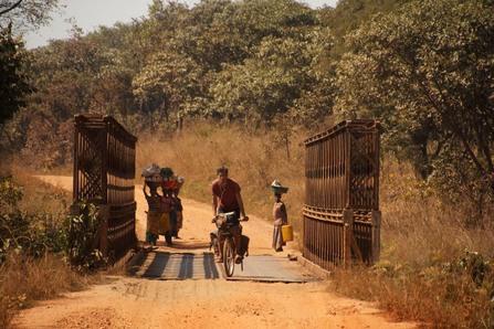 Cycling through the DRC