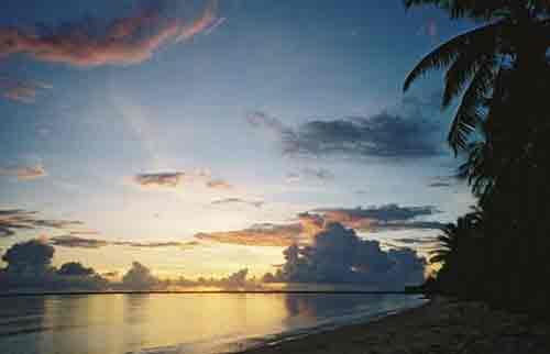 Kiribati, tropical pacific