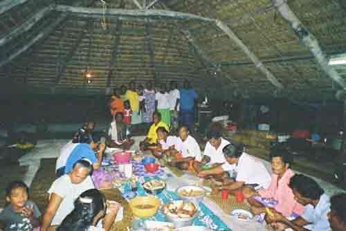 Kiribati, Botaki ceremony, tropical pacific