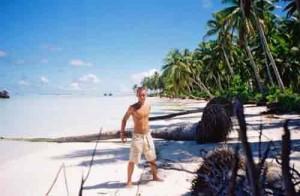 Andy McGinley, Kiribati, Pacific