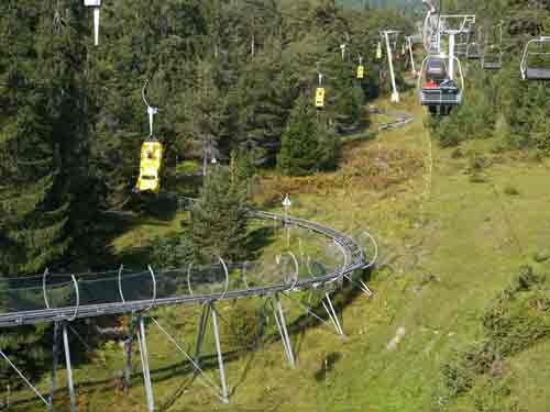 Alpina rollercoaster, Austria