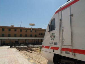 Modern trains, Baghdad, Iraq