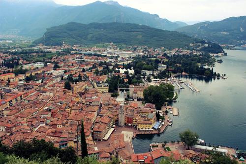 Lake Garda Aerial, Italy