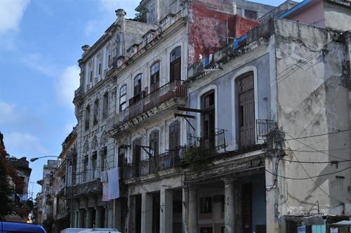 Decaying building in Havana