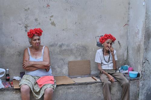 Old ladies in Havan