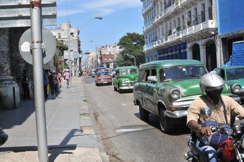 Old cars in Havan