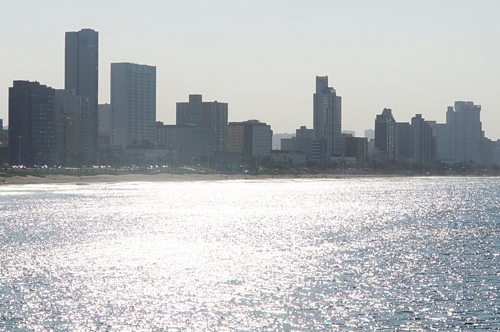 Durban from the sea