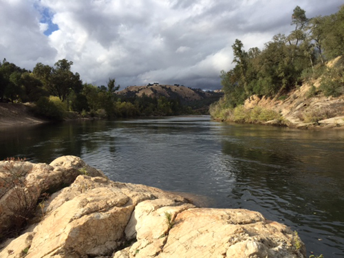 The American River in Coloma National Park
