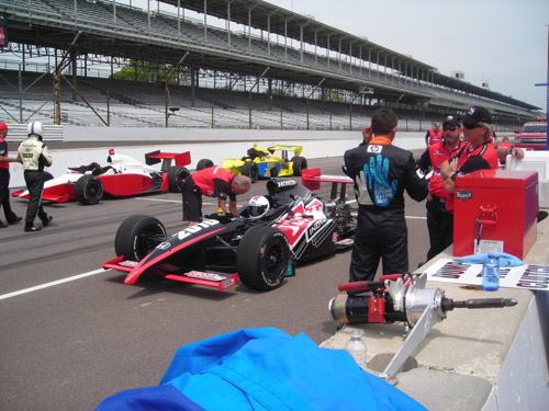 Track day at Indianapolis