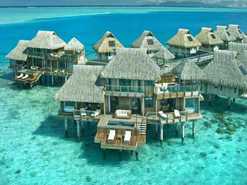 Bora Bora overwater villas