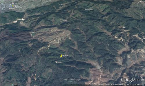 Xiapu on map