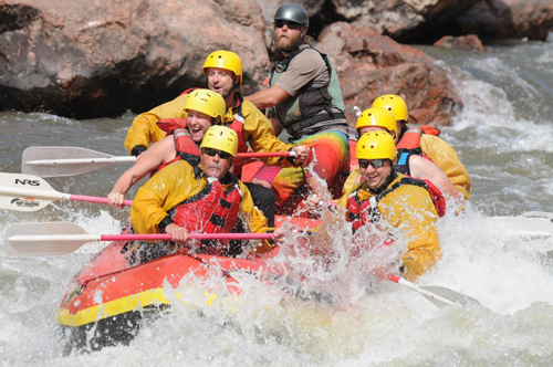 Rafting the Royal Gorge, Colorado