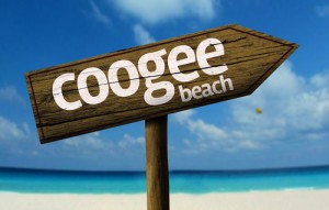Coogee Beach sign