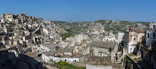 Sassi, Puglia