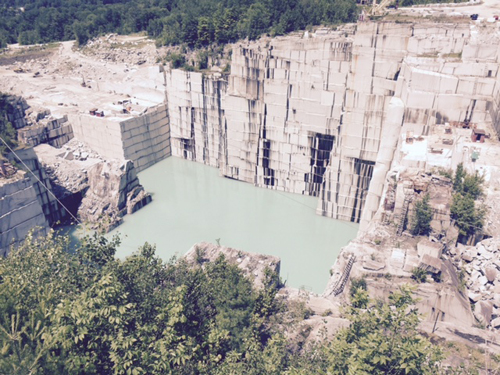 Granite quarry vermont