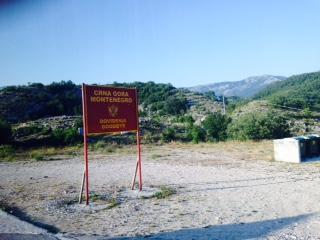 Border Montenegro Bosnia Herzegovina