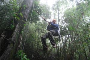Ziplining, Laos